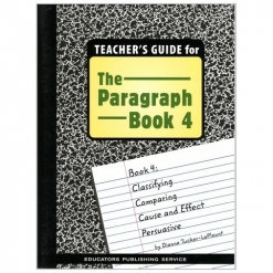 The Paragraph Book - Book 4 Teacher's Guide