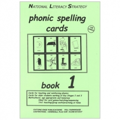 Phonic Spelling Cards - Book 1