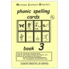 Phonic Spelling Cards - Book 3