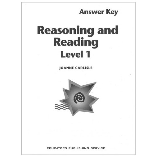 Reasoning & Reading Series - Level 1 - Answer Key