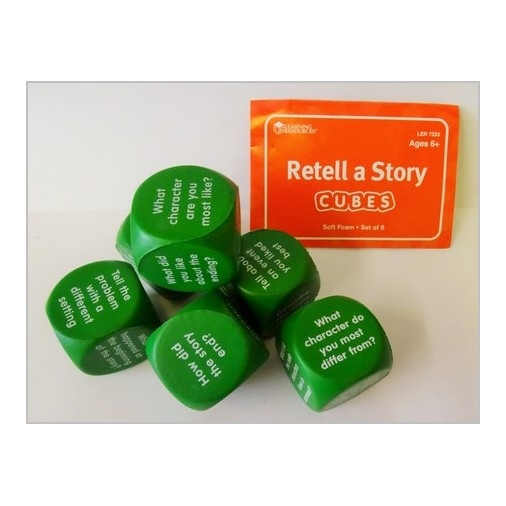 Retell A Story Dice