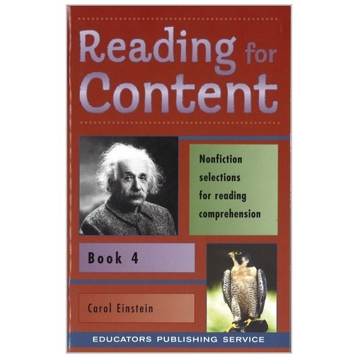 Reading for Content - Level 4