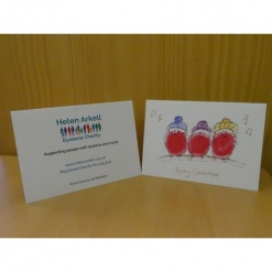 Christmas Cards - 'Three Robins' (pack of 5)