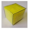 Dice - Small yellow foam pocket Single