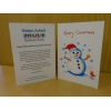 Christmas Cards - Snowman (pack of 5)