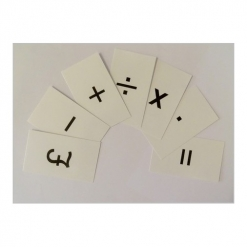 Maths Symbol Card Set Pack