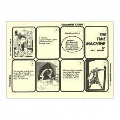 Retold Text Series - The Time Machine - Game Cards