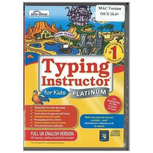 Typing Instructor Platinum For Kids - Mac Version