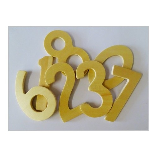 Wooden Number Pack